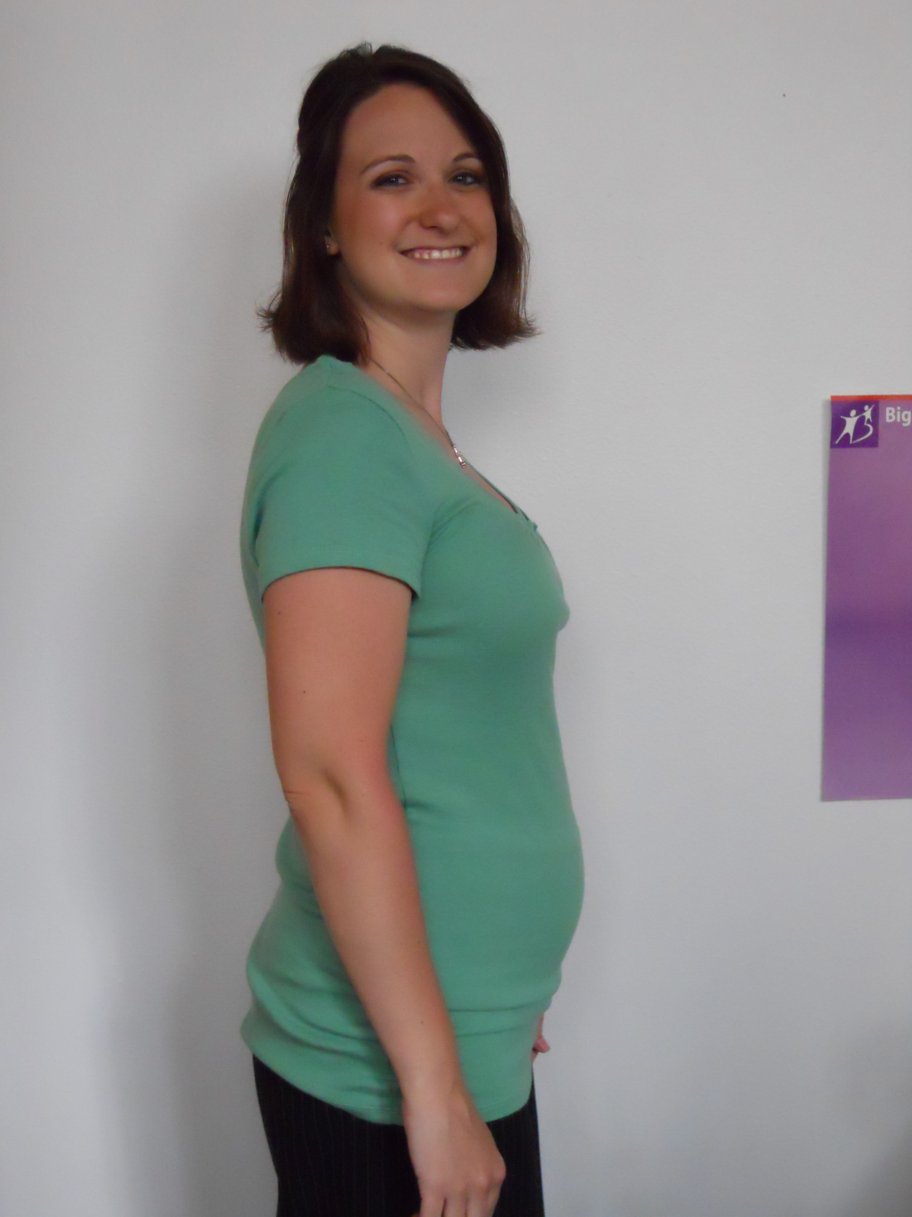 how to lose weight while pregnant second trimester
