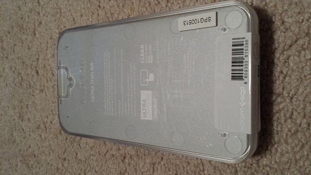 Spigen Htc One Case Ultra Thin Air